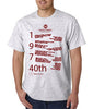 Muhlenberg College 40th Reunion Tee Shirt