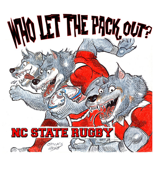Who Let The Pack Out? T-Shirt