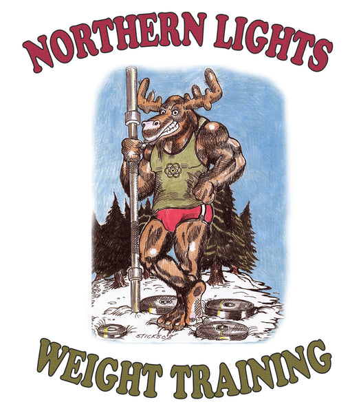 Northern Lights Weight Lifting