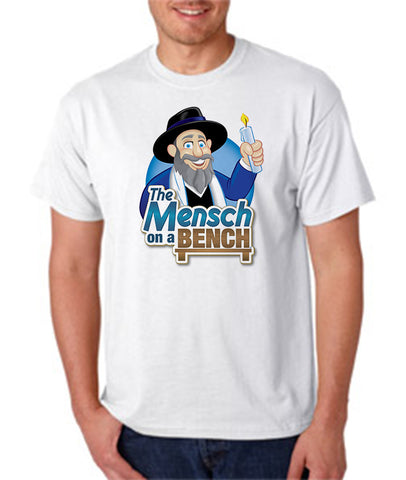 Mensch on a Bench T-Shirt