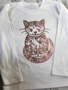 Mandela cat children's top