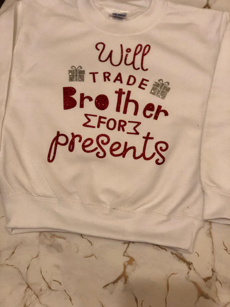 Children's Christmas jumper. Will trade for presents
