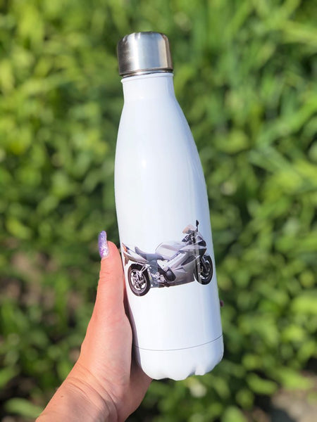 insulated bowling bottle, Custom print