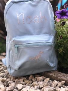 Personalised children's  rucksack