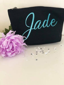 personalised makeup bags