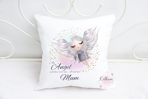 angel cushion cover
