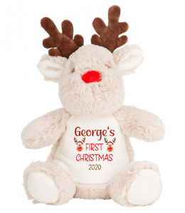 christmas Personalised teddy