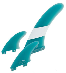 BLUE GLASS FIN 9""
