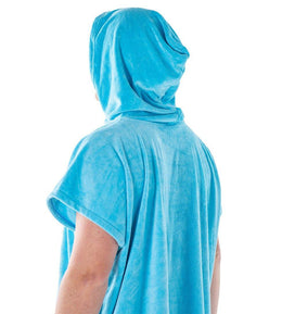 TSBW HOODED TOWEL - AQUA