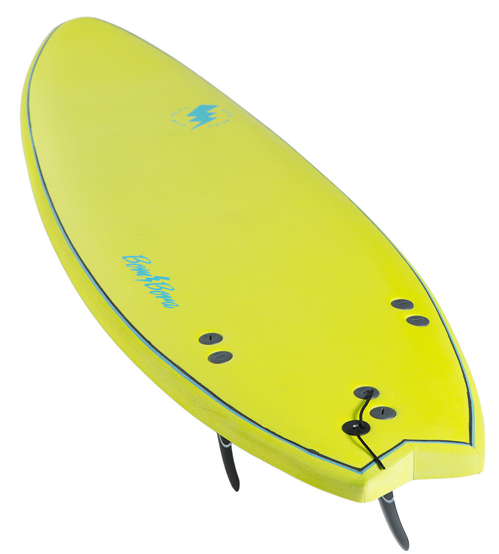 SOFTBOARD 6'0 LIME