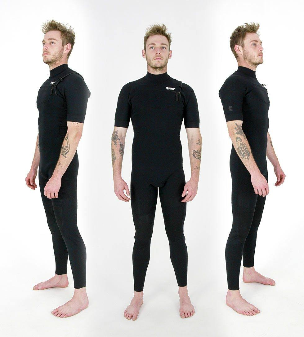 Mens 2/2 Chest Zip Long Springsuit