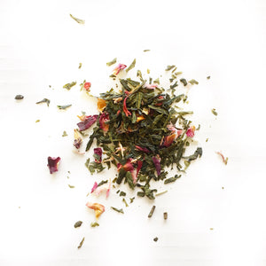 Grapefruit Rose Green Tea