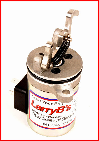 DEUTZ BF4M1011F Fuel shut off solenoid 04170534R Bobcat skid steer loader 12Vdc