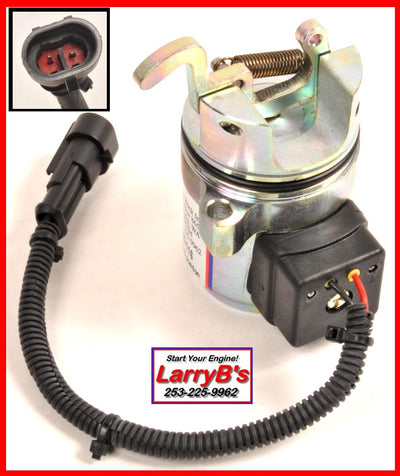 LarryB's Deutz 1011 / 2011 Fuel Shut Off Solenoid, 04287583, 04287116, 12 V
