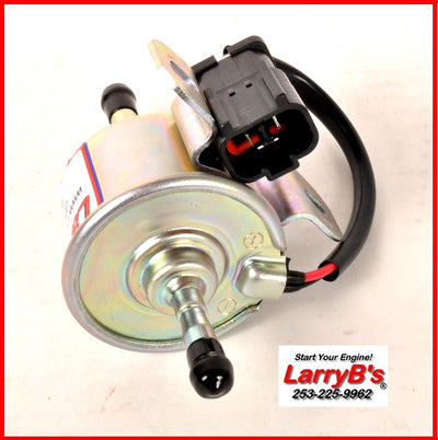 LarryB's 129612-52100-12 Electric Fuel Pump for Yanmar 12 Volt DC