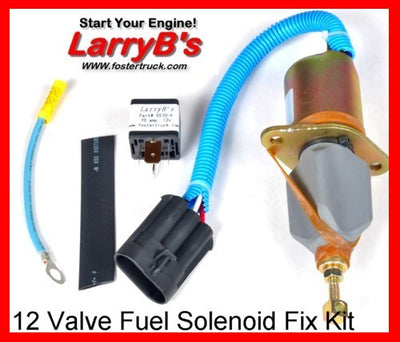 2-1/2 Fuel shutdown shut off solenoid Fix Kit with instructions for Dodge SA-4981-12