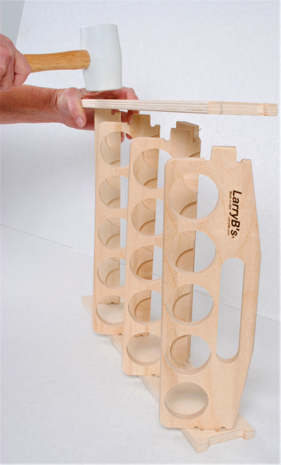 Caulking Tube Holder, Storage Rack, Caddy. Holds 15 Tubes