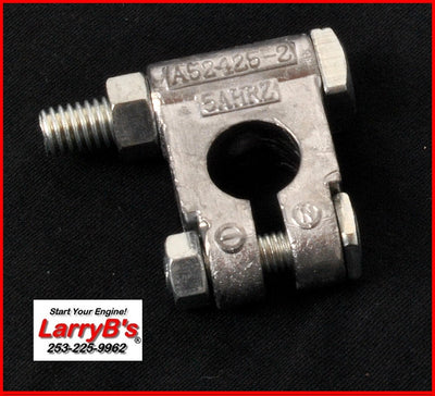 LarryB's A52425 Military Style Battery Cable End Clamp Terminal, Negative side