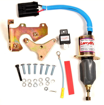 LarryB's 94-98 Dodge Diesel Fuel Shut Off Solenoid Mechanics Complete FIX KIT