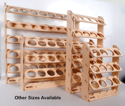 24 Can Spray Paint or Lube Can Wall Mount Storage Holder Rack