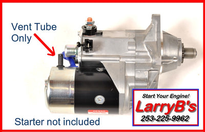 LarryB's 71-82302 Vent Tube for Denso Starters on Dodge Diesel 1989-1993