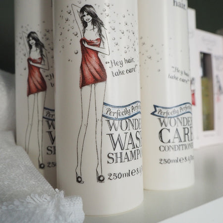 Introducing the Wonder Shampoo And Conditioner