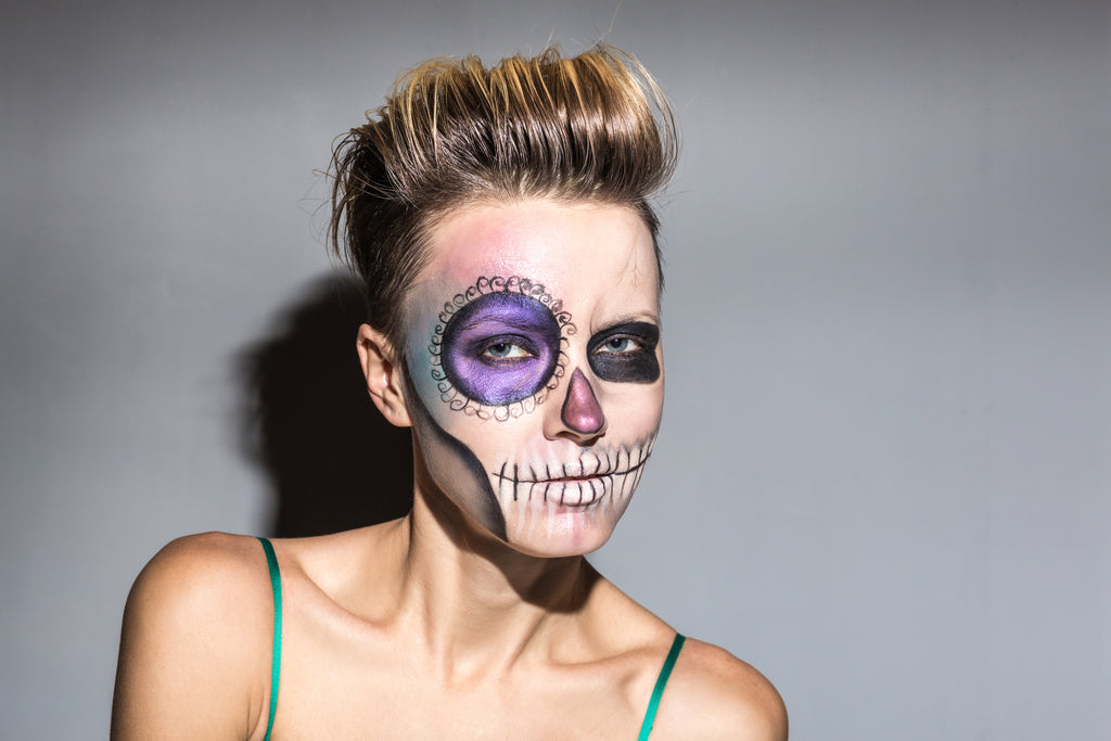 Day of the Dead Hair Inspiration - Quiff