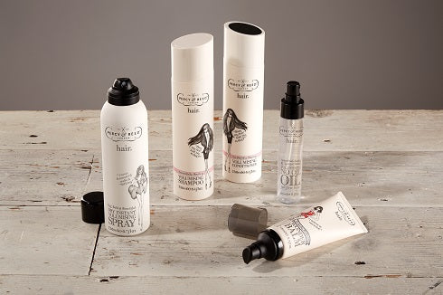 Volumising hair care range by Percy and Reed