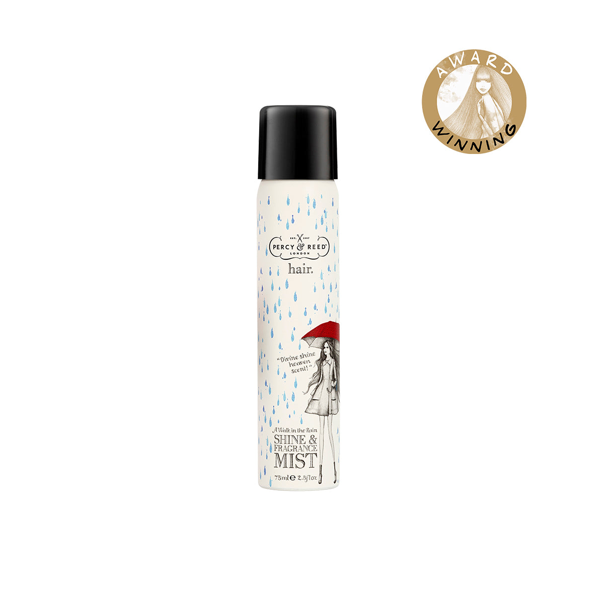 Percy & Reed A Walk in the Rain Shine & Fragrance Mist