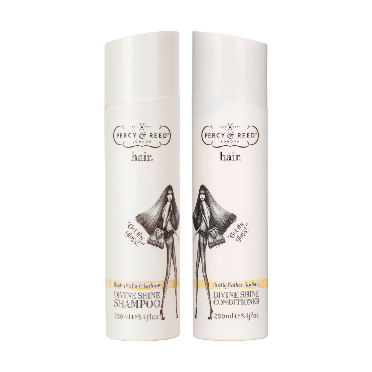 Percy & Reed Really Rather Radiant Divine Shine Shampoo and Conditioner Bundle