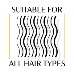 Suitable for All Hair Types