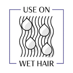 Use on Wet Hair