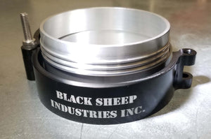 "5"" Charge Pipe Clamp - Extreme Duty - Black Sheep Industries Inc."
