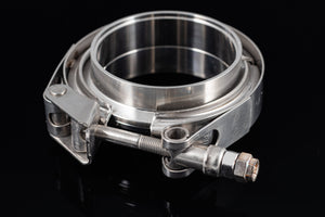 "3"" Stainless Steel V-Band Flange Assembly with Clamp - Black Sheep Industries Inc."