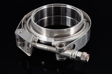 "Load image into Gallery viewer, 4"" Stainless Steel V-Band Flange Assembly with Clamp - Black Sheep Industries Inc."