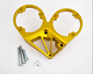 PLATINUM RACING PRODUCTS - RB Series Double Cas Bracket