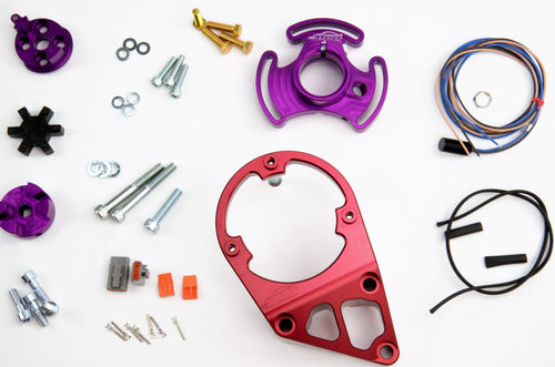 PLATINUM RACING PRODUCTS - RB Series Mechanical Fuel Pump Bracket and CAM Trigger Kit Only