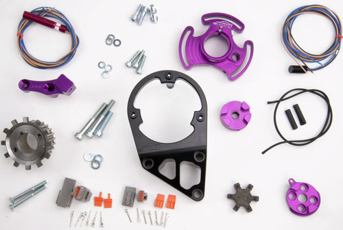 PLATINUM RACING PRODUCTS - RB Series Mechanical Fuel Pump Bracket (Single) and Full Trigger Kit