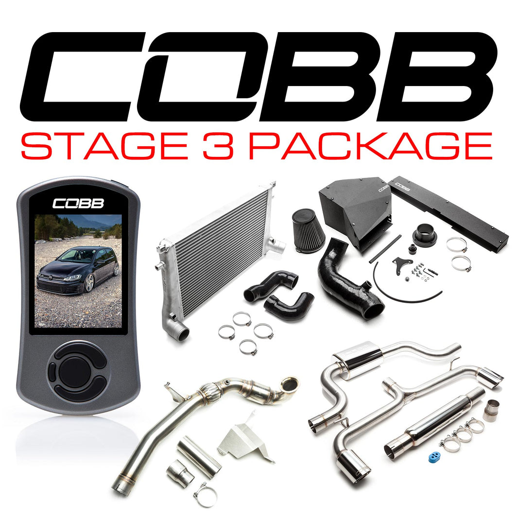 VOLKSWAGEN STAGE 3 POWER PACKAGE (MK7.5) GTI 2018-2019 USDM - COBB