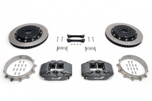 RCM / Alcon 4-Pot Rear Motorsports Brake Kit 343mm (04+ STI)