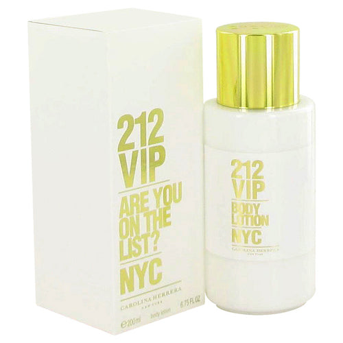 212 Vip Body Lotion By Carolina Herrera 6.7 oz Body Lotion