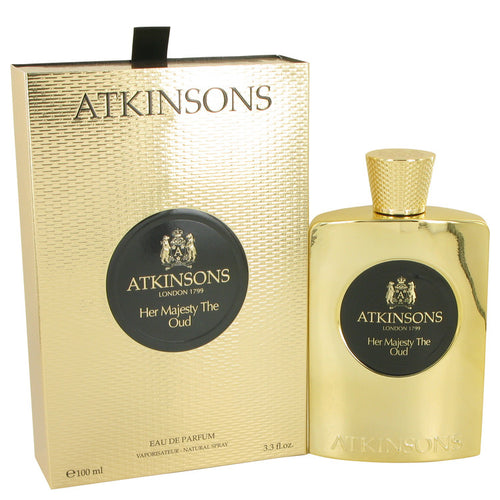 Her Majesty The Oud Eau De Parfum Spray By Atkinsons 3.3 oz Eau De Parfum Spray