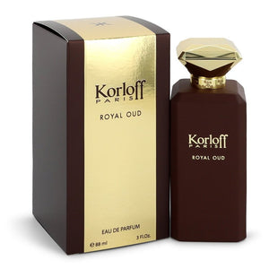 Korloff Royal Oud Eau De Parfum Spray (Unisex) By Korloff 3 oz Eau De Parfum Spray