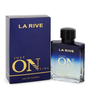 La Rive Just On Time Eau De Toilette Spray By La Rive 3.3 oz Eau De Toilette Spray