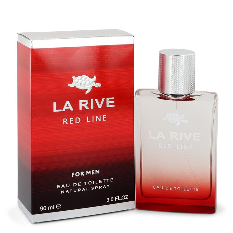 La Rive Red Line Eau De Toilette Spray By La Rive 3 oz Eau De Toilette Spray