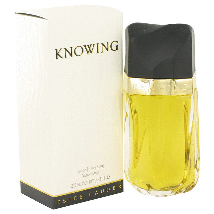 Knowing Eau De Parfum Spray By Estee Lauder 2.5 oz Eau De Parfum Spray