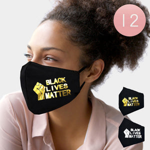Black Lives Matter Face Masks