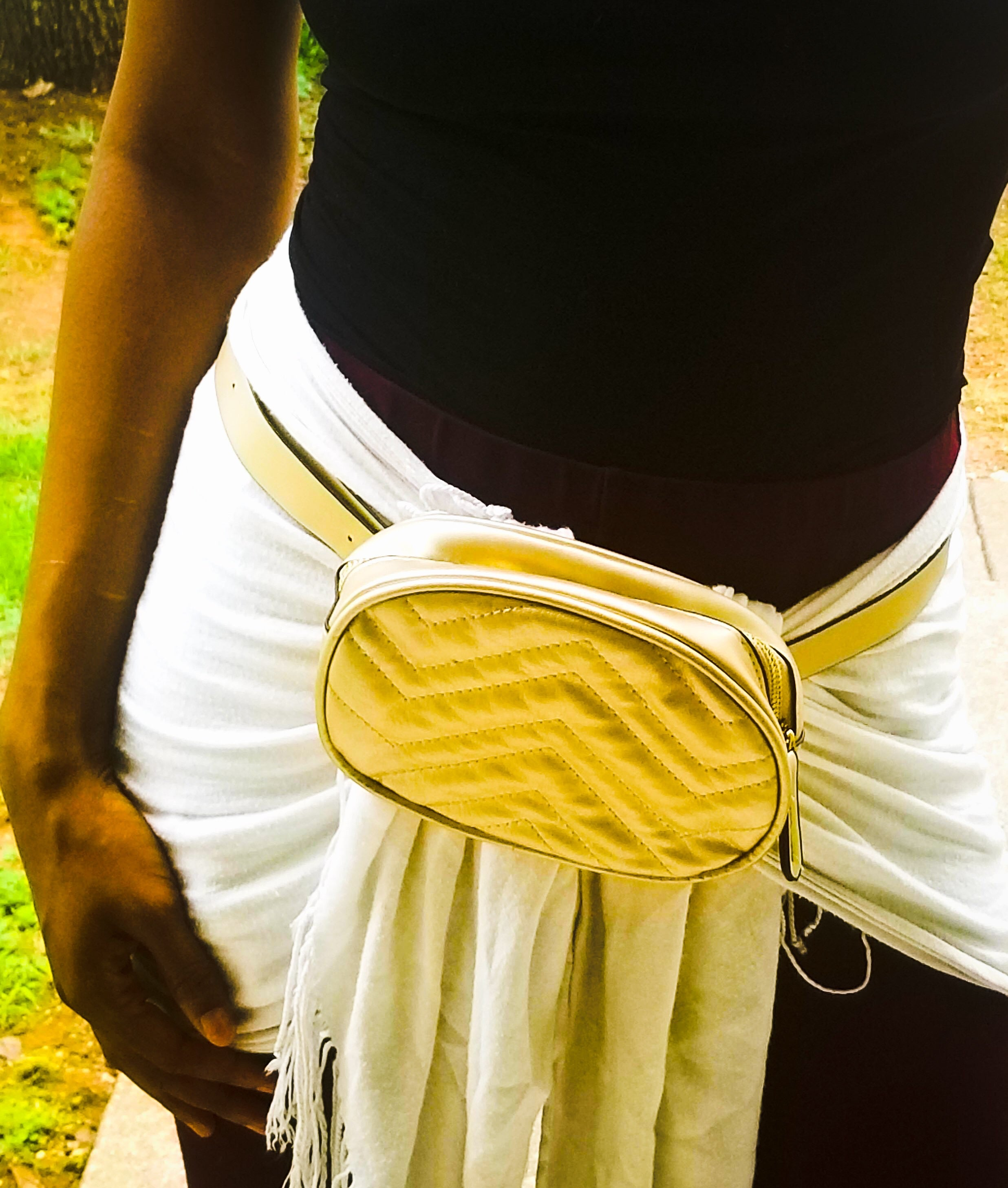 2-Way Fanny Pack (Gold)