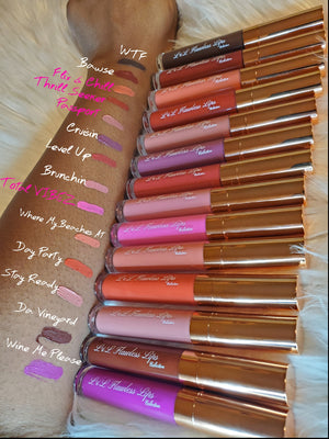 Girl's Trip Matte Lip Collection