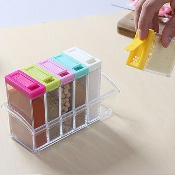 Seasoning Storage Organizer Box